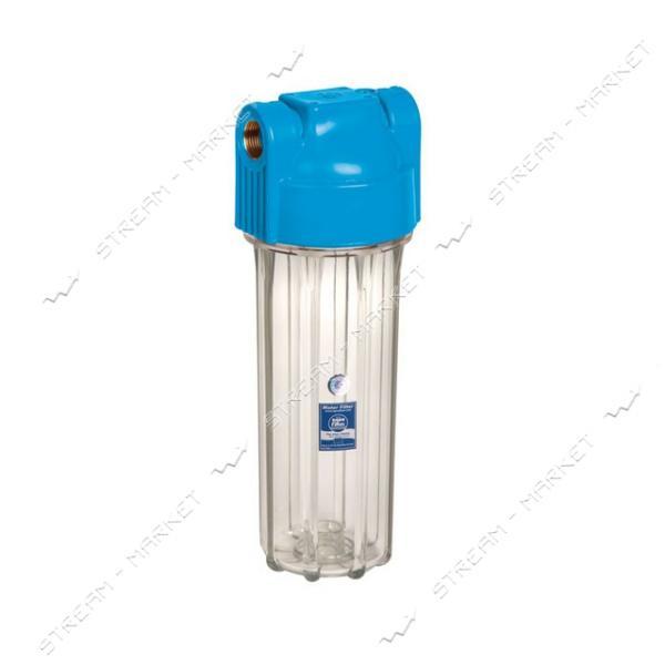 Фильтр магистральный AQUAFILTER-FHPR1 HP1 10' прозрачный натрубный 1'