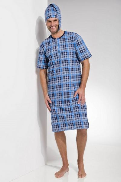 Ночные рубашки мужские KOSZULKA TARO 108 FILIP SS17 Одежда для сна и дома Польша