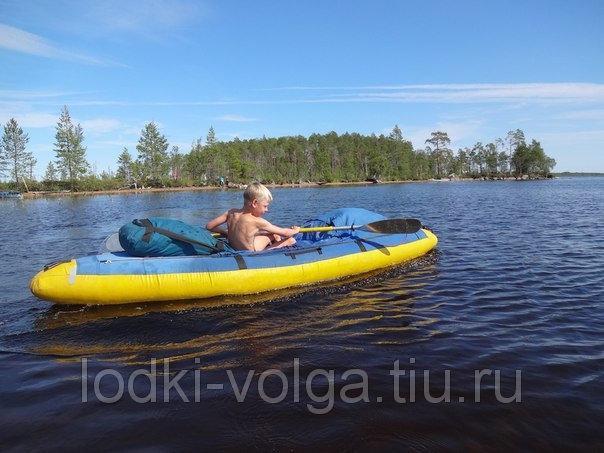 Надувная лодка-байдарка Щука-1 (материал-Сэндвич)