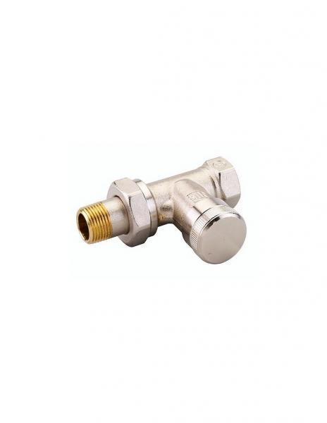 Клапан запорный прямой Danfoss RLV 15 никель 003L0144
