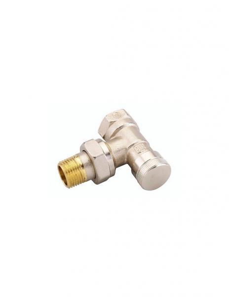 Клапан запорный угловой Danfoss RLV 20 никель 003L0145