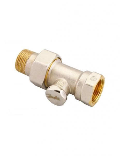 Клапан запорный прямой Danfoss RLV-S 20 никель 003L0126