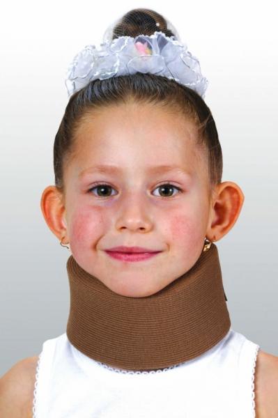 Бандаж для шеи детский, мягкий (шина Шанца)