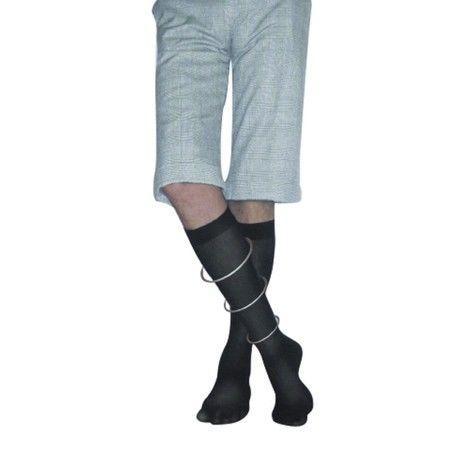 Гольфы антиварикозные мужские Ergoforma 2класс компрессии/23-32 мм рт. ст. открытый носок