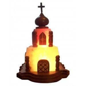 """Соляная лампа """"Храм"""""""