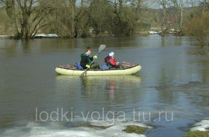Надувная лодка-байдарка Налим-150 (материал-Сэндвич)