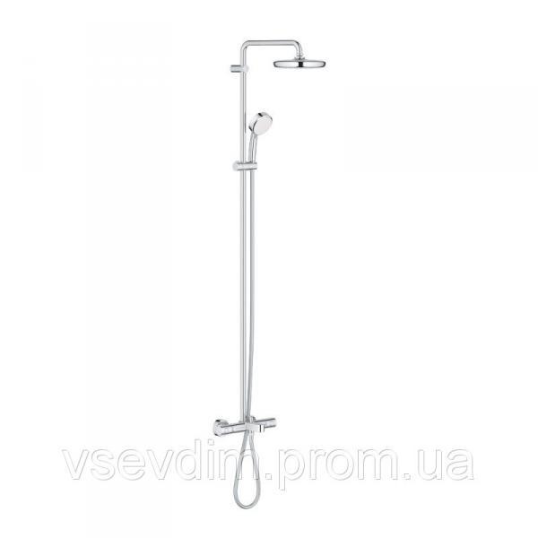 Grohe Tempesta Cosmopolitan 26223001 душевая система с термостатом для ванны
