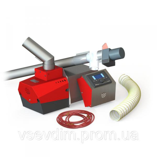 Пеллетная горелка Stehio-Prom 150 (гор., автомат., шнек 2,0 м), 150 кВт