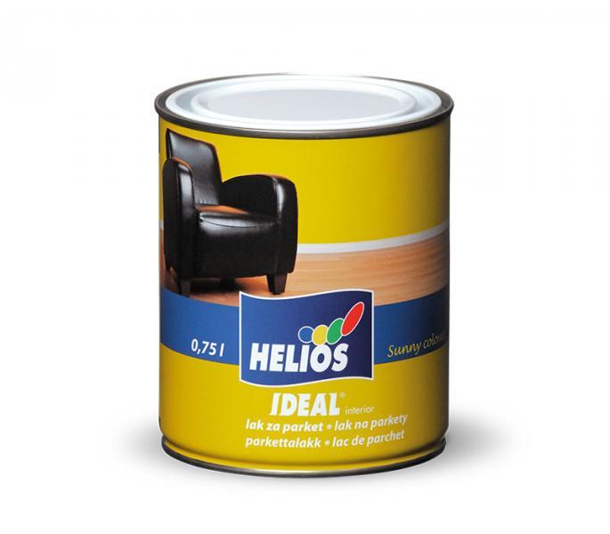 Паркетный лак уретано-алкидный HELIOS IDEAL, глянцевый, 2,5л