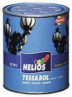 Эмаль по металлу HELIOS TESSAROL Antik, антрацит, 0,75л