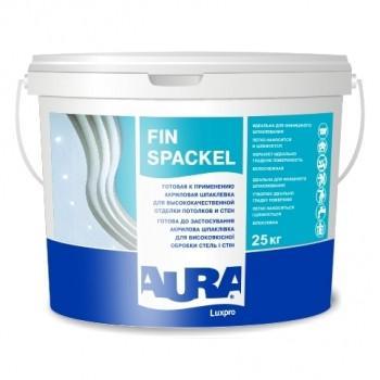 Акриловая шпатлёвка AURA Luxpro Fin Spackel, 1,2кг