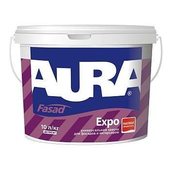 Фасадная краска  AURA Fasad Expo, А (белая), 1л