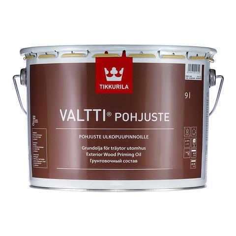 Грунтовочный антисептик для древесины Tikkurila Валти Праймер (Valtti Primer), 0,9л