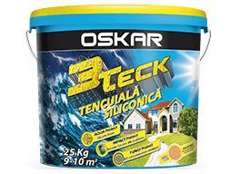"""Фасадная силиконовая штукатурка с фактурой """"короед"""", DEUTEK OSKAR 3Teck, 1,5 мм, 25кг"""