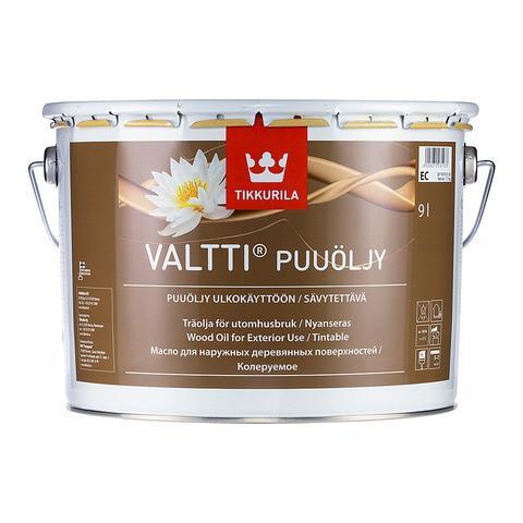 Масло для дерева Валти (Valti Puuoljy), Тиккурила (Tikkurila), EC, 9л