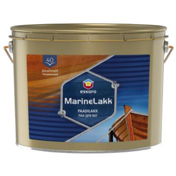 Алкидно-уретановый полуматовый лодочный лак Eskaro Marine Lakk 40, 2,4л