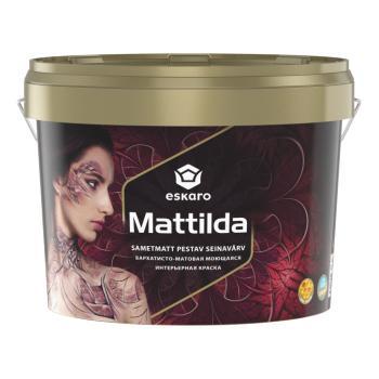 Краска для стен и потолков ESKARO Mattilda, TR (прозрачная), 2,7л