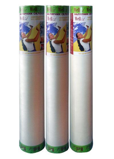 Малярный стеклохолст Wellton 45 гр/м2, 1х20 м