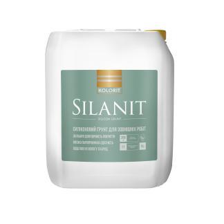 Силиконовая фасадная грунтовка KOLORIT Silanit, 10л