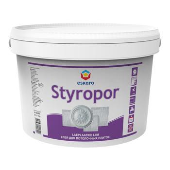Клей для стиропора (багет, карнизов и потолочных плиток) ESKARO Styropor, 1кг