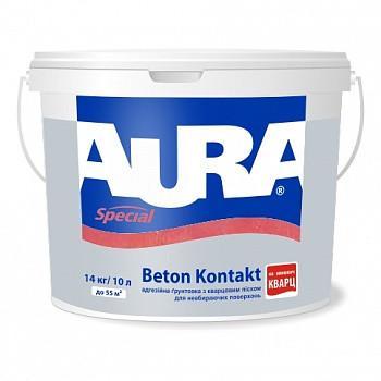 Адгезионная грунтовка для бетона AURA Beton Kontakt, 14кг