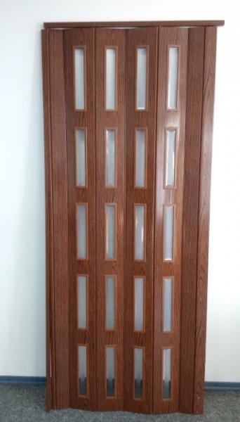 Дверь гармошка  Дуб Классик  715