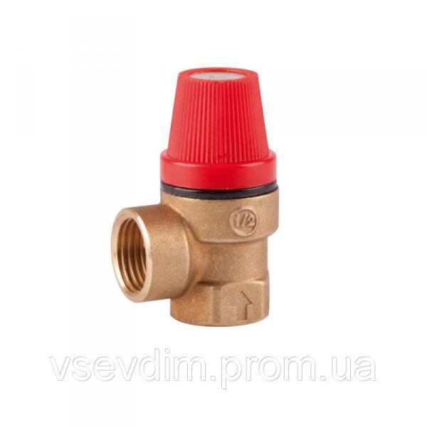 SD Предохранит. клапан 1/2вв(1,5бара) деш.   SD24415