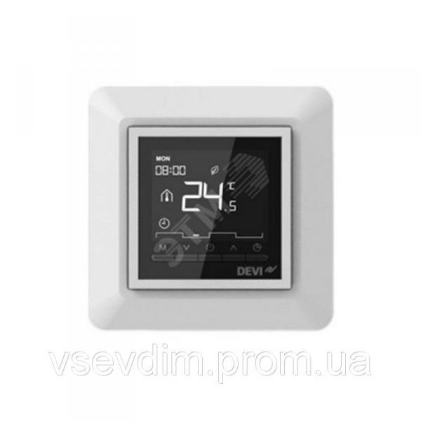 Терморегулятор DEVIreg Opti белый програм. с дисплеем (140F1055)
