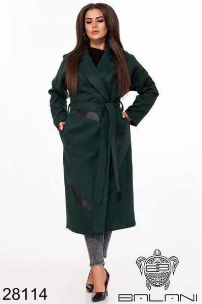 Пальто женское демисезонное размеры: 50-56
