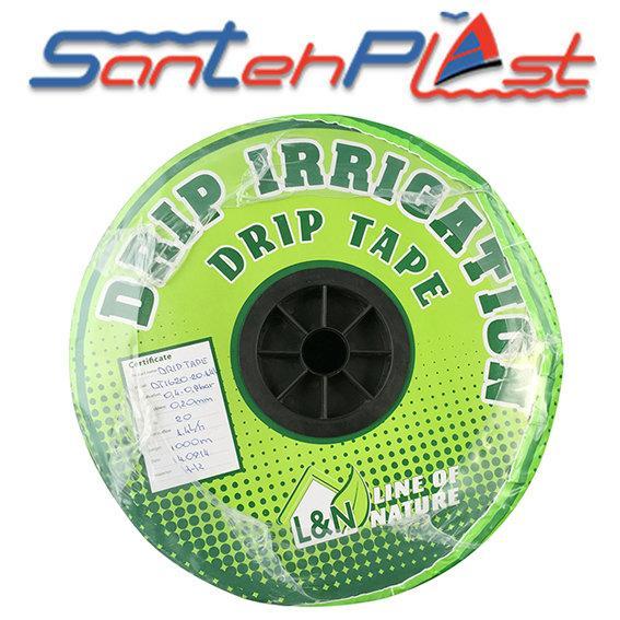 Лента для капельного полива Santehplast Drip Tape L&N DT1620/20 (1000м)