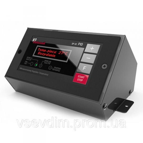 Контроллер для котла «KG» арт. SP-32 PID (управл. вент.+насос СО+насос ГВС+темп. дымовых газов)