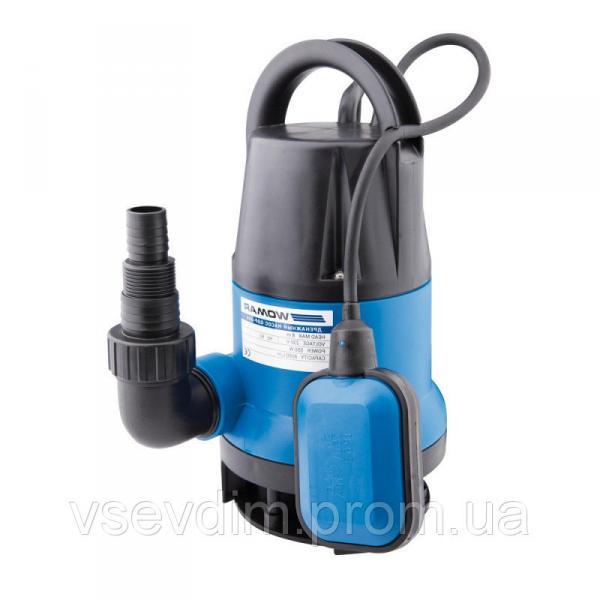 Насос дренажный WOMAR QDP-400 ( 0,4 кВт ) корпус пласт.