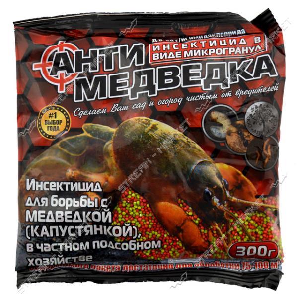 Микрогранулы Антимедведка АГРОМАКСИ люкс 300г