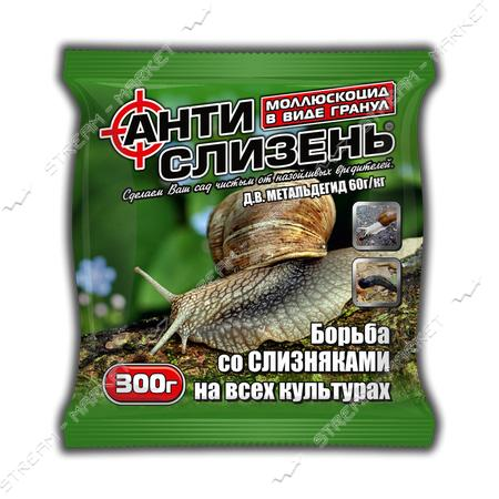 Антислизень АГРОМАКСИ 300г на 150кв м