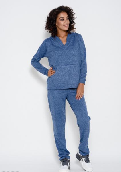 Спортивные костюмы ISSA PLUS 9199  S голубой