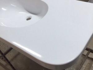 Фото Столешницы из искусственного камня на заказ от производителя. Мойка в подарок. Гродно Столешницы из искусственного камня для ванной на заказ в гродно