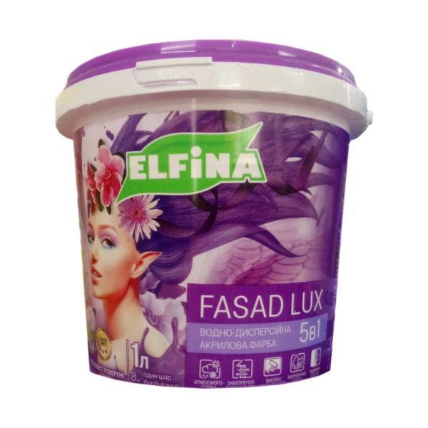 ФАСАДНАЯ КРАСКА ELFINA FASAD LUX 4.2КГ