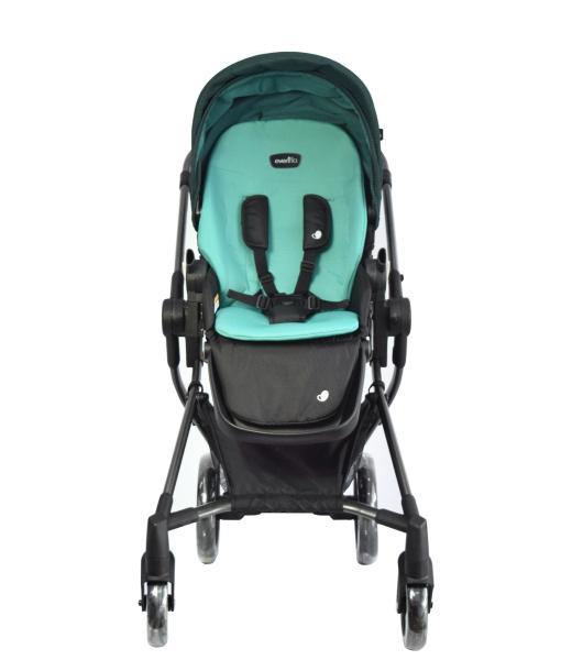 Evenflo® Універсальна дитяча коляска Vesse - зелений, червоний (W8BG)