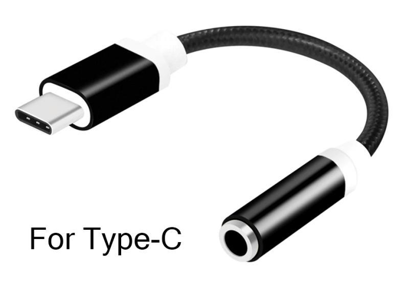 Шнур для Huawei P20 TAPE C - гнездо джек 3,5 мм.