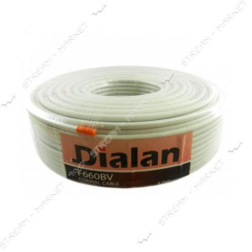Кабель телевизионный Dialan F660BV 100м white