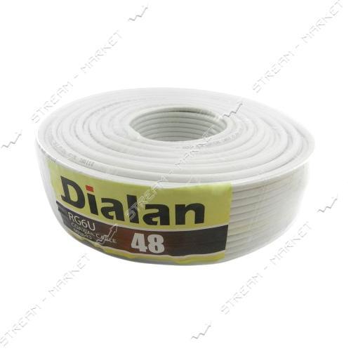 Кабель телевизионный Dialan RG6U 48W 305м