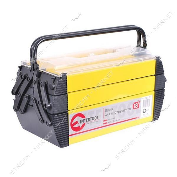 Ящик для инструментов INTERTOOL BX-5018 металлический 18' 5 секций