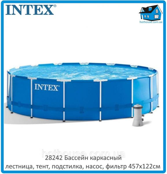 Каркасный бассейн Intex 28242 NP