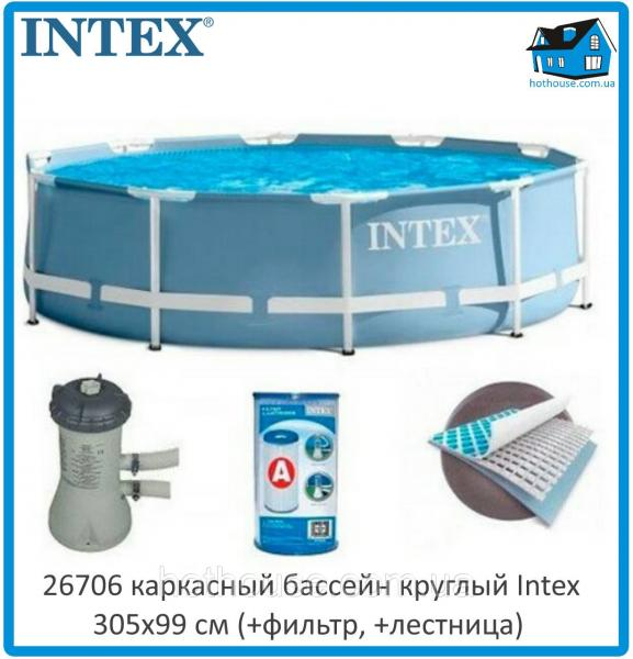 Каркасный бассейн Intex 26706 NP