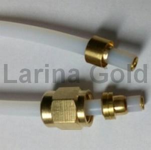 Трубка тефлоновая  SAECO 9979.B29  ( скоба - гайка 280 мм )