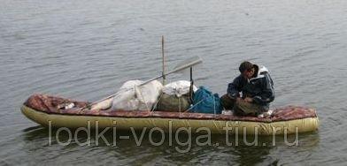 Надувная лодка-байдарка Налим-300 (материал-Сэндвич)