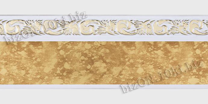 Фото Карнизы Пластиковые Потолочные Бленда   Ажур «22», ширина = 5 см, Декоративная лента для потолочного карниза