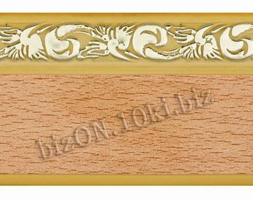 Бленда   Ажур «Бук», ширина = 5 см, Декоративная лента для потолочного карниза