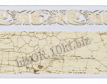 Бленда   Ажур «Кракелюр 362», ширина = 5 см, Декоративная лента для потолочного карниза
