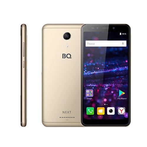 Бюджетный смартфон с безрамочным дисплеем BQ-5522 Next